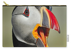 Puffin Portrait Carry-all Pouch