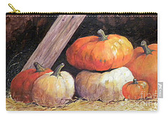 Pumpkins In Barn Carry-all Pouch