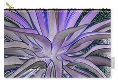 Purple Aloe Carry-all Pouch