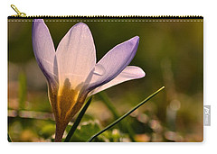 Purple Crocus Carry-all Pouch