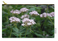Carry-all Pouch featuring the photograph Purple Flower by Jennifer Ancker