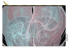 Carry-all Pouch featuring the digital art Quadrant by Kim Sy Ok