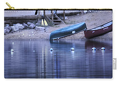 Quiet Canoes Carry-all Pouch by Janie Johnson