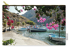 Carry-all Pouch featuring the photograph Quiet Cove by Therese Alcorn