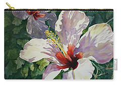 Radiant Light - Hibiscus Carry-all Pouch