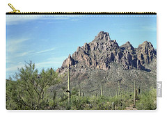 Ragged Top Mountain Panorama Carry-all Pouch