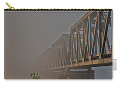 Railway Bridge Carry-all Pouch by Rod Wiens