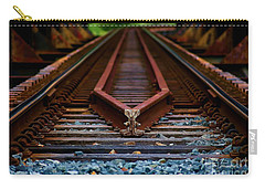 Railway Track Leading To Where Carry-all Pouch