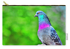 Rainbow Pigeon Carry-all Pouch