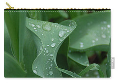Carry-all Pouch featuring the photograph Raindrops by Aimee L Maher Photography and Art Visit ALMGallerydotcom