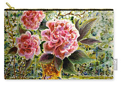 Rainy Afternoon Joy Carry-all Pouch by Dee Davis