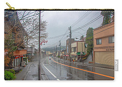 Rainy Day Nikko Carry-all Pouch by Jonah  Anderson