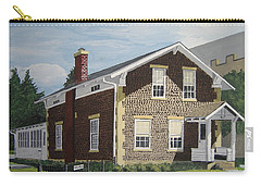 Carry-all Pouch featuring the painting Rasey House by Norm Starks