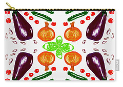 Ratatouille Carry-all Pouch by Barbara Moignard