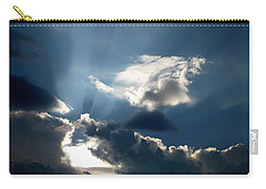 Rays Of Light Carry-all Pouch by Mark Dodd