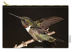 Carry-all Pouch featuring the photograph Ready Set Go Hummer by Randall Branham