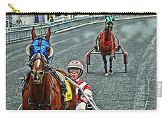 Carry-all Pouch featuring the photograph Ready To Race by Alice Gipson