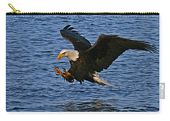 Carry-all Pouch featuring the photograph Ready To Strike by Doug Lloyd