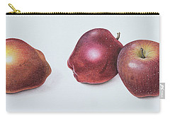 Red Apples Carry-all Pouch by Margaret Ann Eden