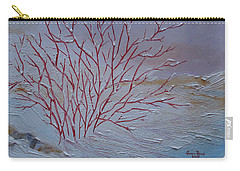 Red Branches Carry-all Pouch by Judith Rhue