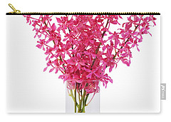 Red Orchid In Vase Carry-all Pouch