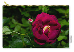 Red Rose In The Wild Carry-all Pouch