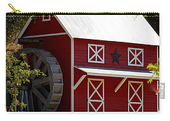 Red Star Barn Carry-all Pouch by Holly Blunkall