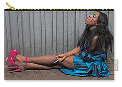 Carry-all Pouch featuring the photograph Red Stilettos by Alice Gipson
