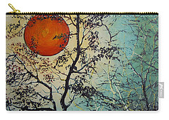 Red Sun A Red Moon Carry-all Pouch
