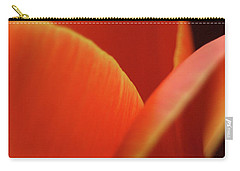 Carry-all Pouch featuring the photograph Red Tulip by Jeannette Hunt