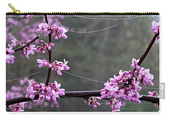 Redbud With Webs And Dew Carry-all Pouch
