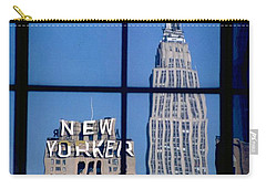 Reflection Empire State Building Carry-all Pouch