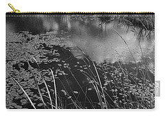 Carry-all Pouch featuring the photograph Reflections In The Pond by Kathleen Grace