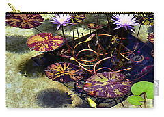 Reflections On Underwater Life Carry-all Pouch by Clayton Bruster