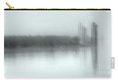 Reflections Through The Fog Carry-all Pouch by Rod Wiens