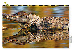 Relection Of An Alligator Carry-all Pouch