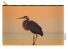 Resting Heron Carry-all Pouch