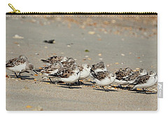 Resting Sandpipers Carry-all Pouch