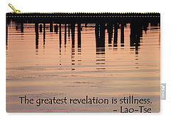 Carry-all Pouch featuring the photograph Revelation by Lainie Wrightson