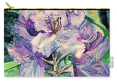 Rhododendron Carry-all Pouch by Mindy Newman