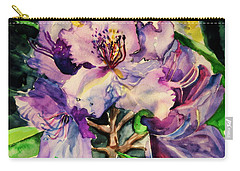 Rhododendron Violet Carry-all Pouch