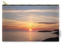 Carry-all Pouch featuring the photograph Rising Sun by Bonfire Photography