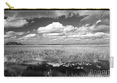 Carry-all Pouch featuring the photograph River Of Grass - The Everglades by Myrna Bradshaw