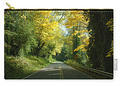Road Through Autumn Carry-all Pouch