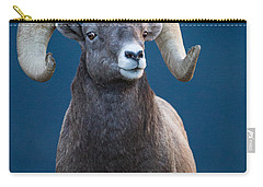 Rocky Mountain Big Horn Carry-all Pouch by Ronald Lutz