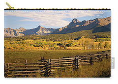 Rocky Mountain Ranch Carry-all Pouch by Steve Stuller