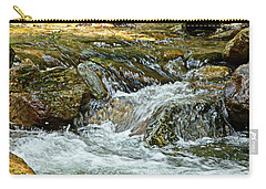 Carry-all Pouch featuring the photograph Rocky River by Lydia Holly