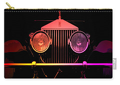 Carry-all Pouch featuring the photograph Rolls Royce Smile by George Pedro