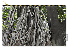 Carry-all Pouch featuring the photograph Roots From A Large Tree Inside Jallianwala Bagh by Ashish Agarwal