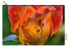 Carry-all Pouch featuring the painting Rose by Lynne Jenkins